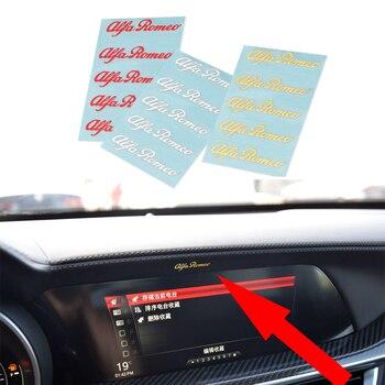 Pegatinas decorativas para el Interior del coche, adhesivos metálicos de níquel 3D...