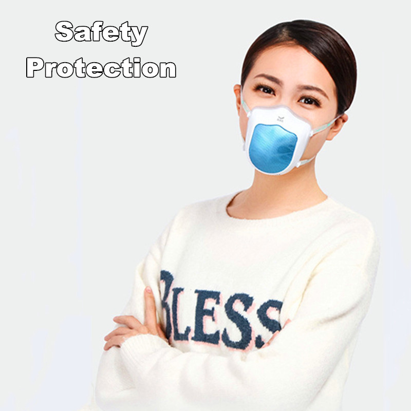 New Q5S Electric Masks Cover Silicone Anti-Haze Sterilizing Rechargeable Air Supply Dustproof Filter Reusable Elastic Band