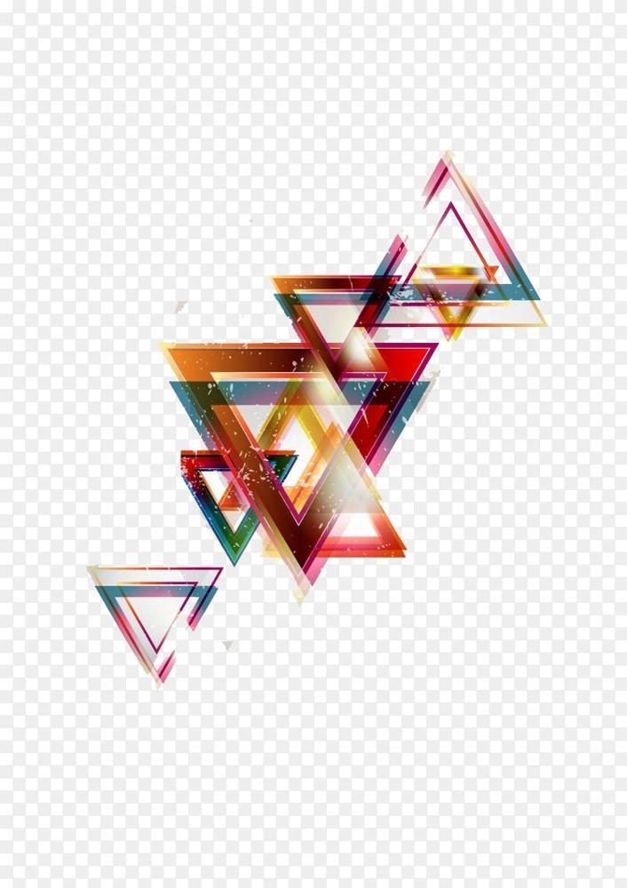 几何形状抽象艺术几何学 冷三角背景png图片素材免费下载 图片编号 Png素材网