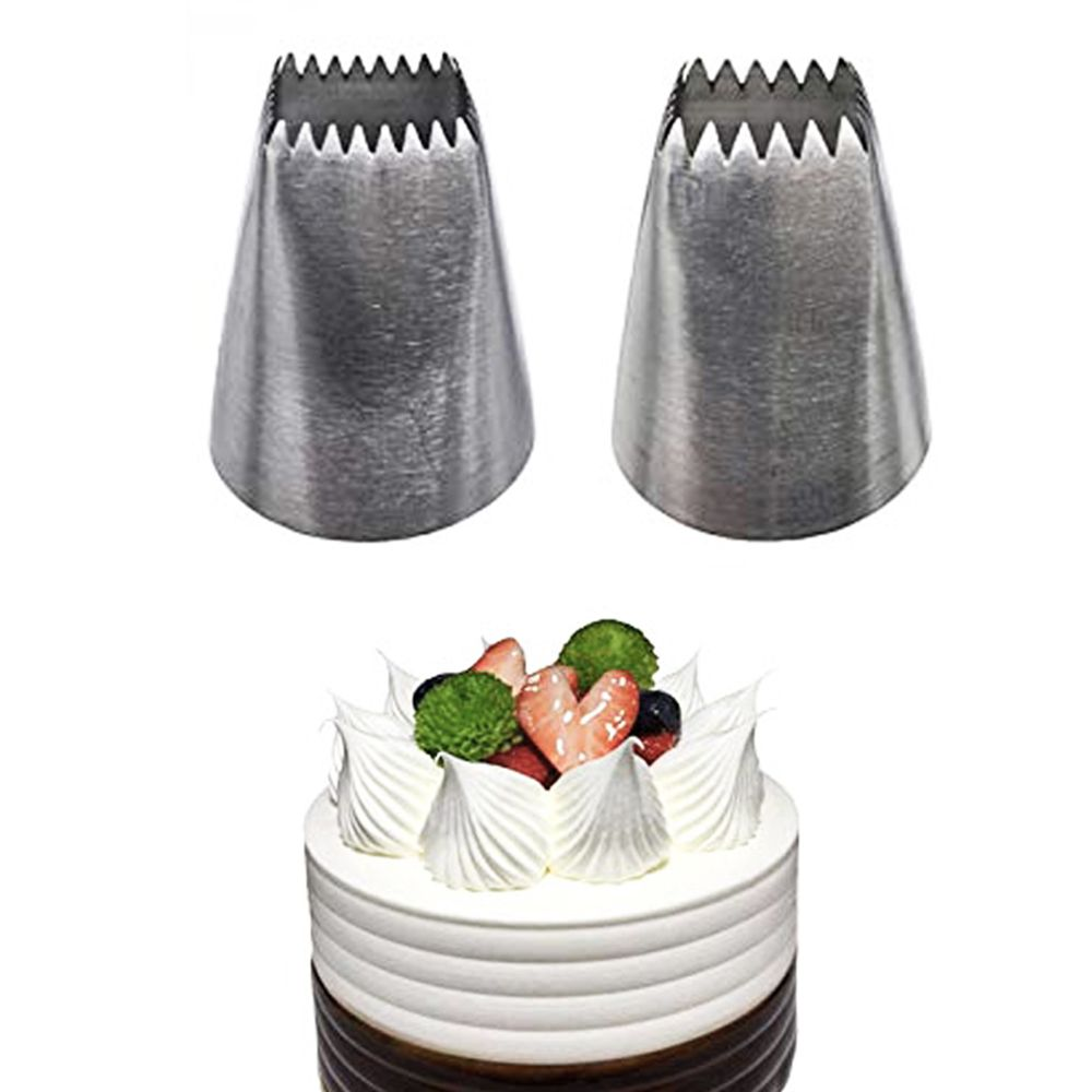 Stainless Steel Flower Icing Piping Tips Frosting Nozzles 1