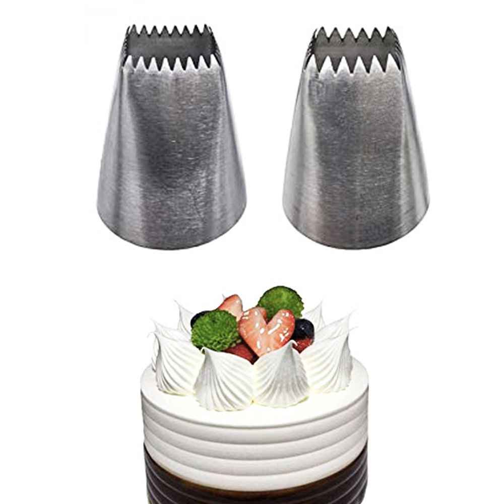 Bloem Icing Nozzles Rvs Pastry Tube Crème Icing Piping Tips Nozzle Fondant Cake Decorating Gereedschap