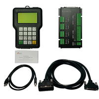 RichAuto A11 CNC DSP controller A11S A11E 3 axis , for cnc router DSP system
