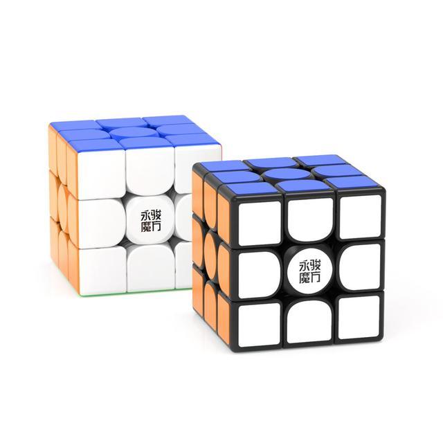 Original YJ Zhilong Mini 3x3 M 4x4 M 5x5 M Magnetic Speed Cubes Small Size YongJun Zhilong Magico Cube Puzzle Toys Magnetic Cube 2