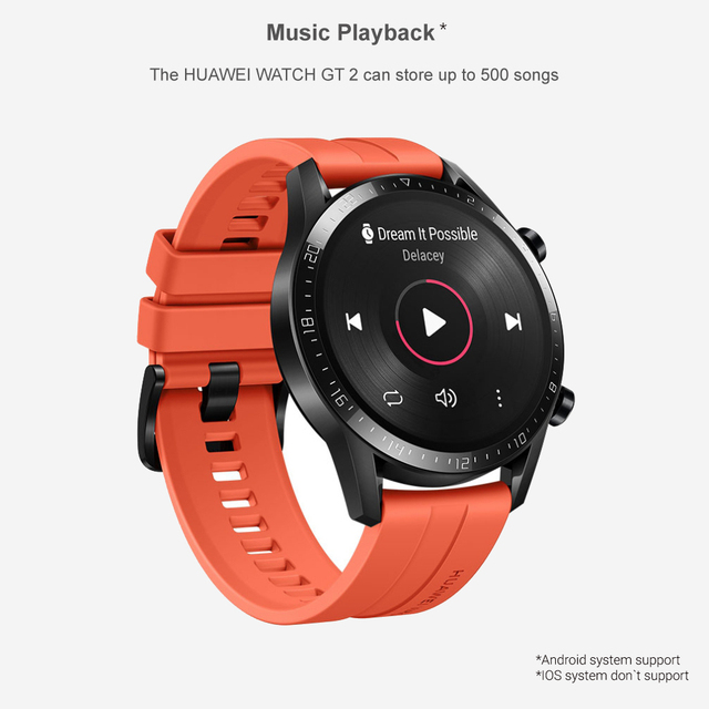 Huawei Watch GT 2 46mm Smart watch SpO2 Blood Oxygen Bluetooth Smartwatch 5.1 14 Days Battery Life Phone Call For Android iOS 4
