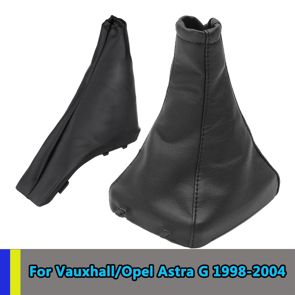 Для Opel/Vauxhall Astra G 1998-2004 стояночного тормоза Шестерни переключения загрузки гетры Противопыльный чехол Крышка из искусственной кожи купе ...