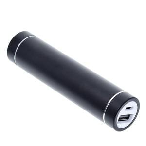 Image 3 - بطارية خارجية معدنية لتقوم بها بنفسك عدة صندوق تخزين بدلة لحام مجانية 1X 18650 بطارية 5 فولت 1A USB شاحن خارجي هاتف ذكي