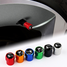 Vástago de válvula de neumático para coche, cubierta de aluminio 3D para Daihatsu, accesorios de decoración, 4 Uds.