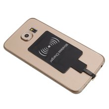 купить Universal Wireless Charger Receiver Micro Usb Microusb For iPhone Qi Standard Charging Recepteur Pad Module For Android Phones дешево