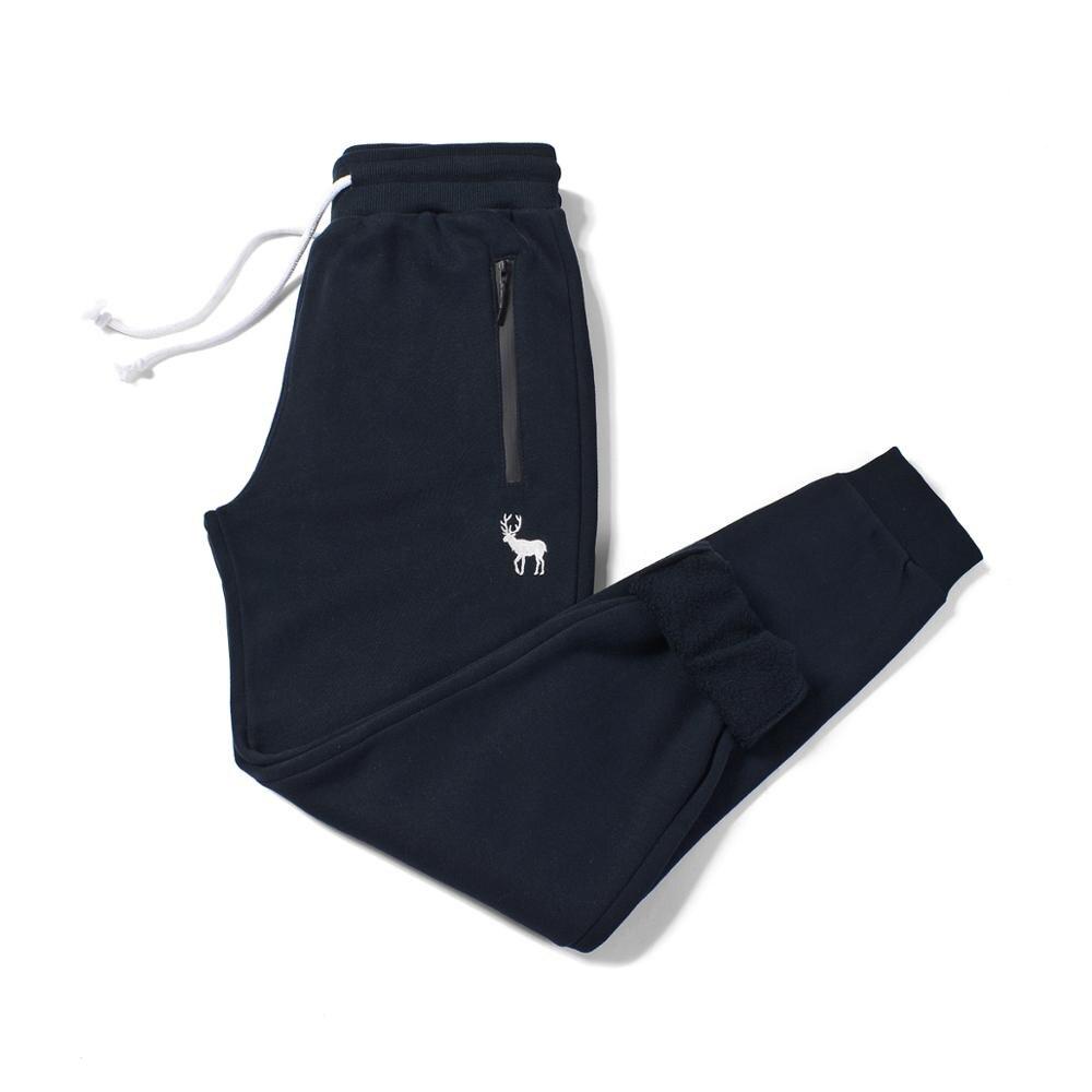 Streetwear Men Sweatpants Pure Cotton Fleece Autumn Winter Casual Feet Long  Afs Hollistic Men Sweatpants Trousers