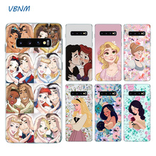 Princess Jasmine Ariel Belle Silicone Case For Samsung Galaxy S8 S9 J4 J6 A8 A6 Plus + J8 A7 A9 2018 Note 10 Pro 9 8 S6 S7 Edge