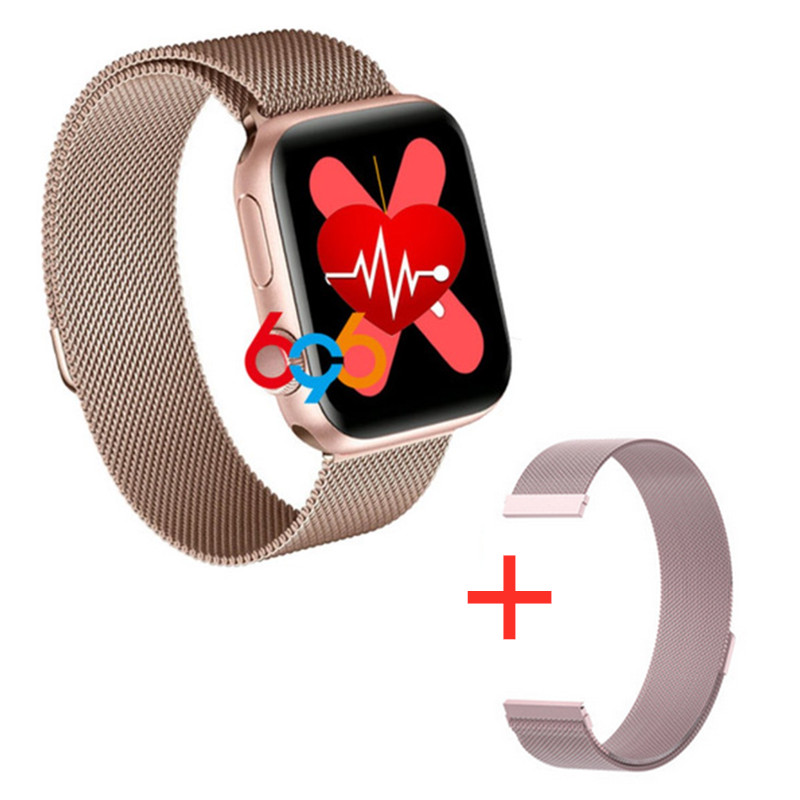 W68 Smart Watch Men Series 5 Full Touch IP67 Fitness Tracker Bracelet Heart Rate Monitor SmartWatch Women VS T5 T500 Iwo 8 12