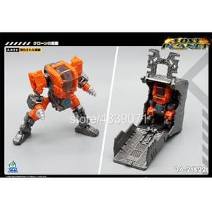 Image 5 - MFT экшн фигурка игрушки DA 21 и DA 22 DA21 и DA22 маленькая пропорция силовая броня силовой костюм потеря планеты трансформация деформации