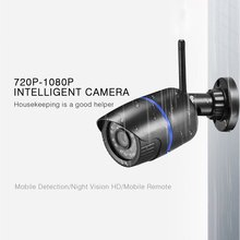 цена на HD Wireless WIFI IP Camera 1080P HD Network Cam CCTV In/Outdoor Security IR Night Indoor and outdoor home night vision