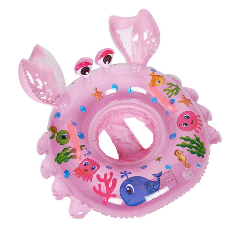 Baby Swimming Ring Inflatable Baby Float Swim Ring With Seat Safety Pool Ring N1HB