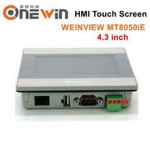 Weinview mt8050ie hmi tela de toque 4.3 polegada tft lcd ethernet usb nova interface da máquina humana exibição