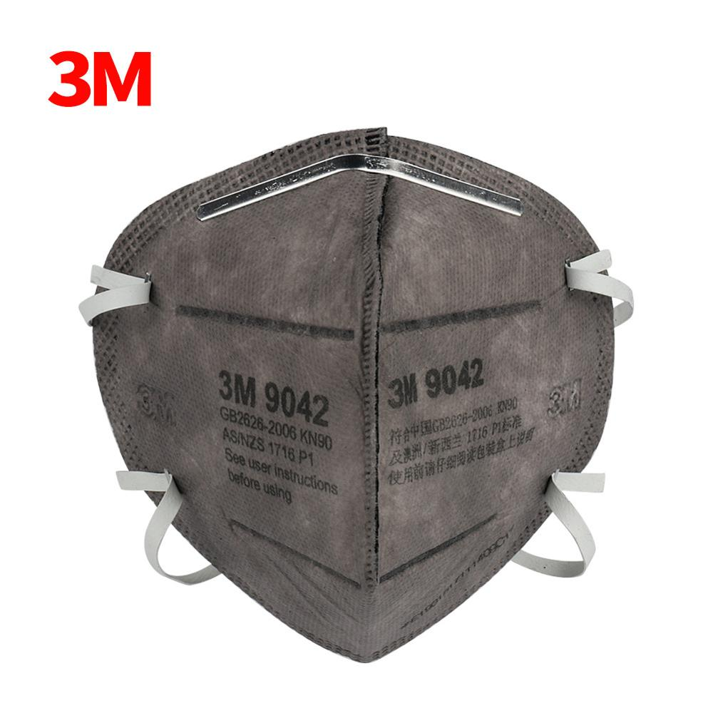 5PCS 3M 9042/9542V Mask Mascarillas Respirator Disposable Pm2.5 Face Mask Particulate Protective Mouth Masks Anti Dust Mask