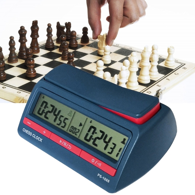 Pendule d'échecs avancée minuterie numérique compte à rebours 1
