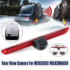 Беспроводной CCD HD авто камера заднего вида обратная парковка ночное видение 3rd тормозной светильник для VW Crafter Mercedes Sprinter