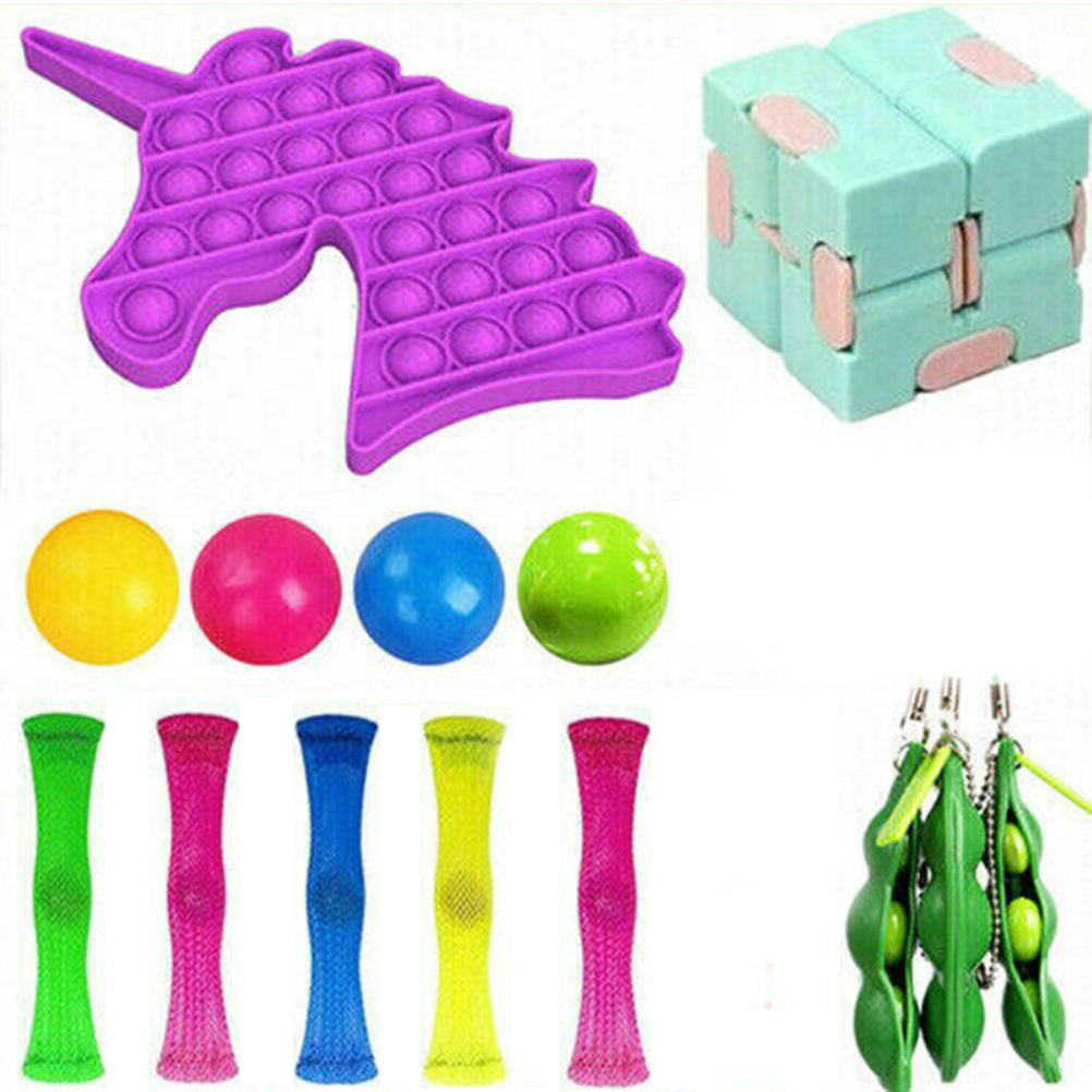 20pcs/22pcs Pack Fidget Sensory Toy Set Stress Relief Autism Anxiety Toy Relief Toy img3