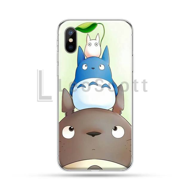 Cartoon Studio Ghibli Totoro Coque Shell Phone Case For iphone 4 4s 5 5s 5c se 640x640