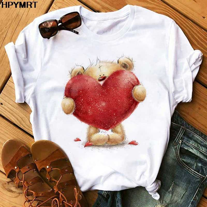 Moda T Delle Donne Della Camicia di Estate Magliette Casual Tees Harajuku Stile Coreano Grafici Top Nuovo Kawaii Manica Corta Donna T-Shirt vestiti