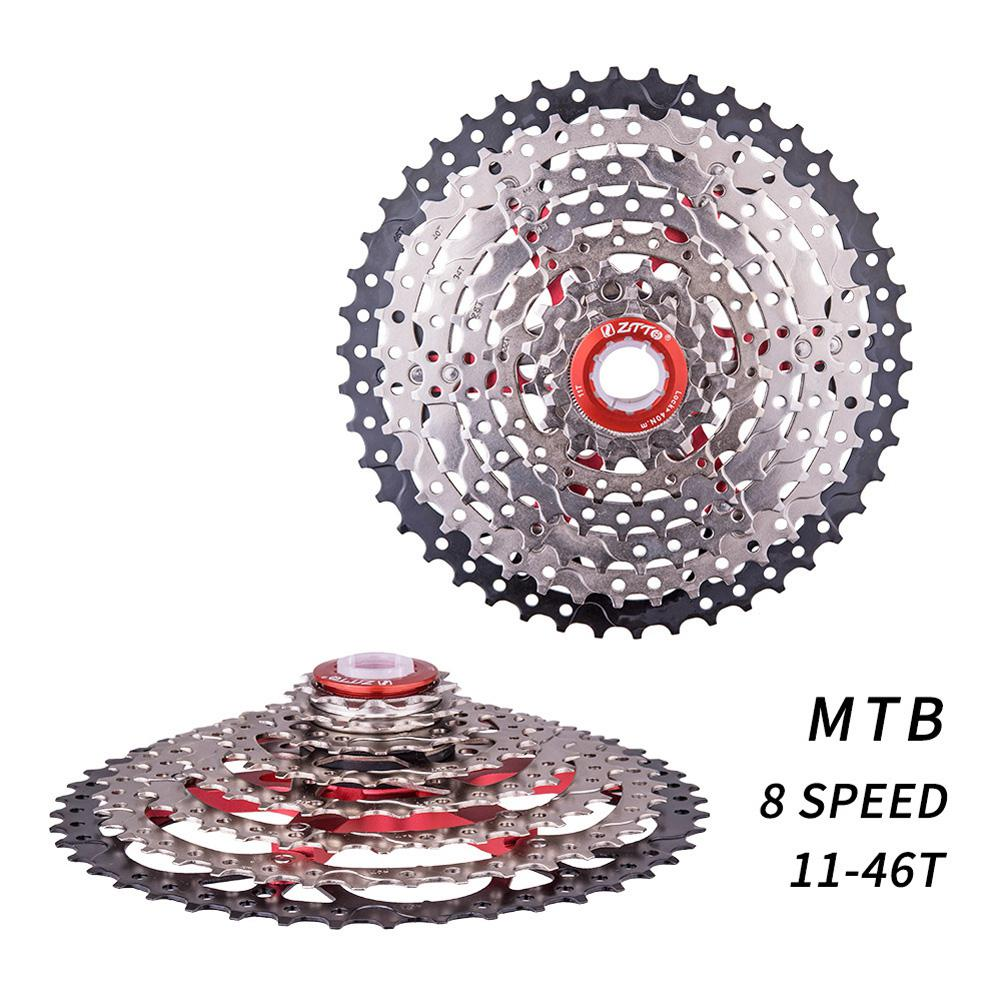 8s Cassette 11-40T Freewheel 8 Speed Steel Flywheel for Parts M410 K7 X4 MTB Mountain Bike Bicycle Part image