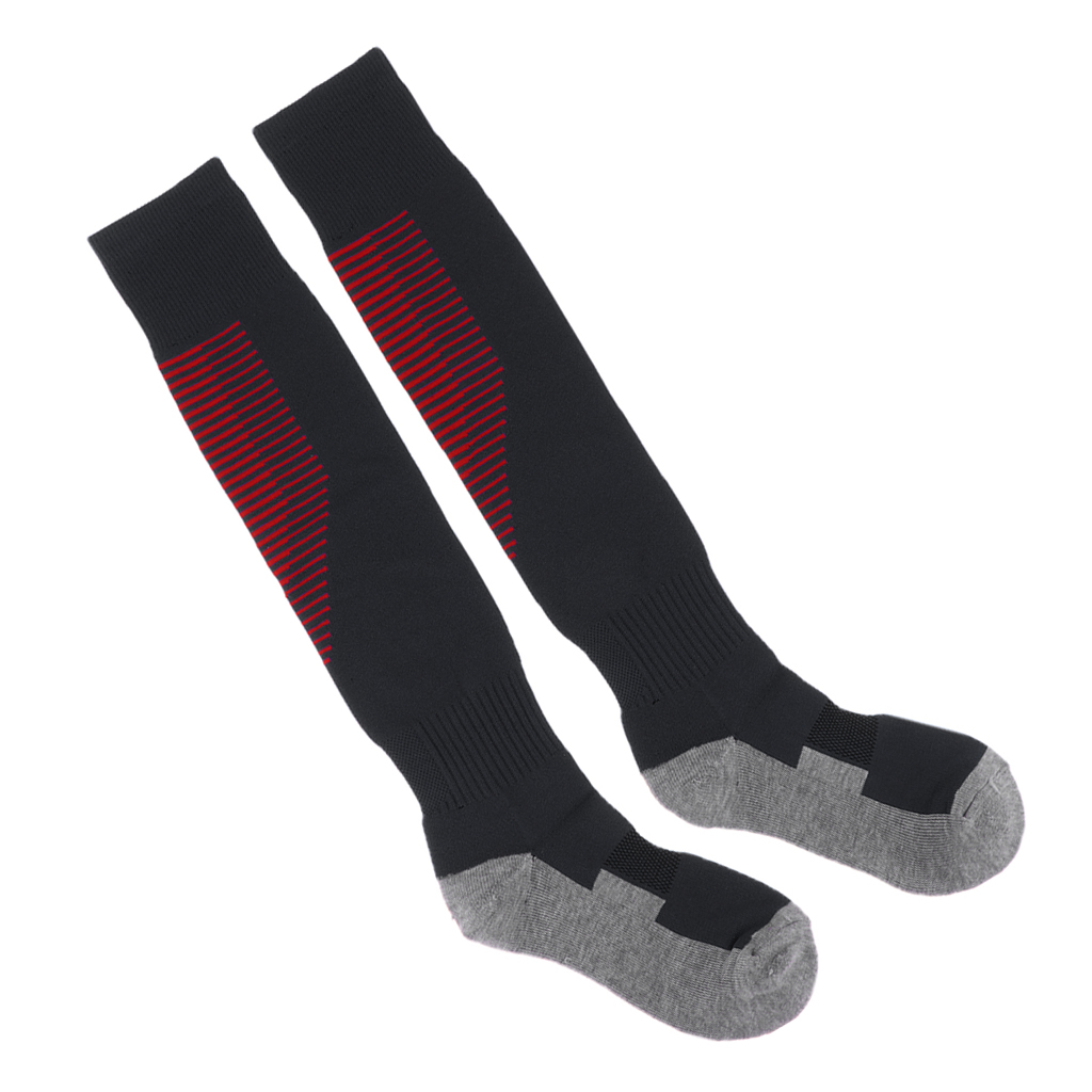 Football Sport Over Knee Socks Extended Stockings Athlete Socks Long Sleeve Socks Men Sweat-Absorb Stockings