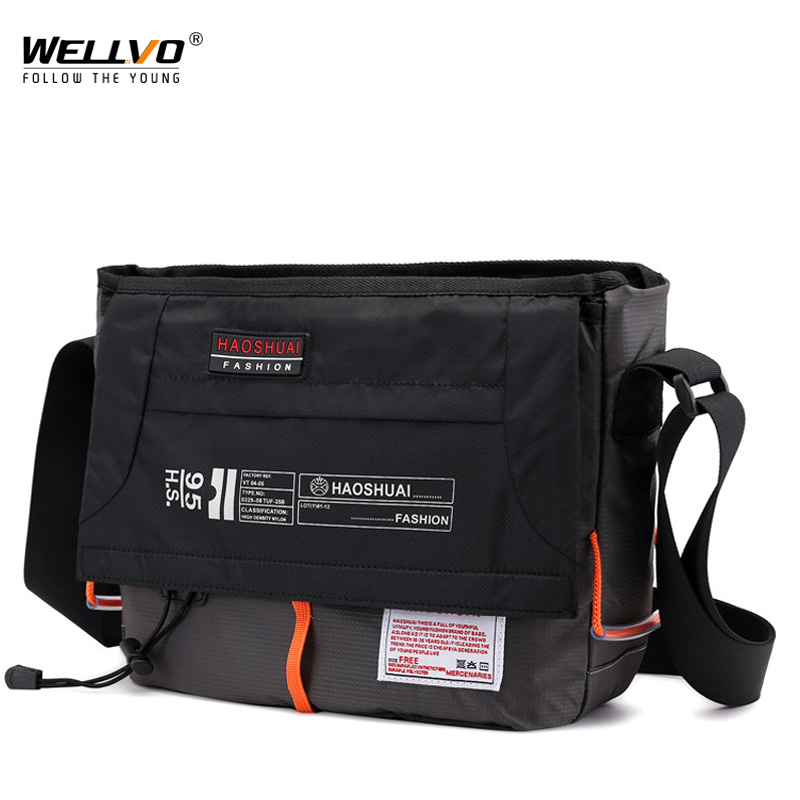Brand Satchel Bags Mens Travel Waterproof Nylon Single Shoulder Bag Crossbody Bag Messenger Bag For Men Casual Bag XA204ZC