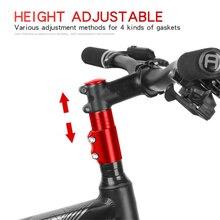 Bicycle Fork Stem Extender MTB Bike Handlebar Riser Head Up Adapter Aluminium Alloy
