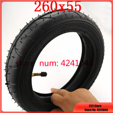 Tires 260x55 tyre&inner tube fits Children tricycle, baby trolley, folding baby cart, electric scooter, children's bicycle
