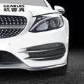 Автомобильный Стайлинг, противотуманная фара, решетка, планки, автомобильные фары, чехлы для карт, наклейки для Mercedes Benz C Class W205, аксессуары и...