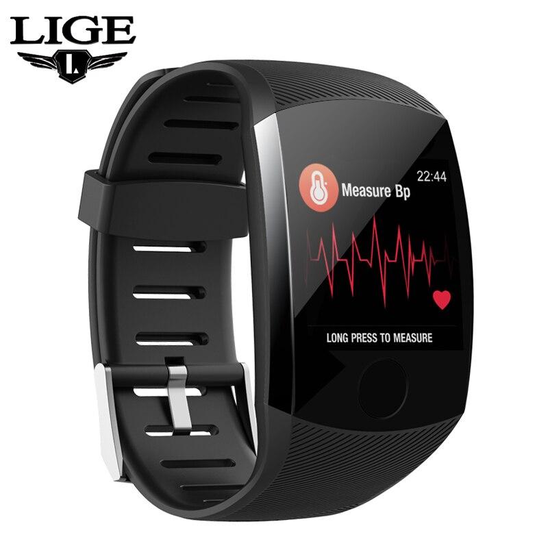 Novo Relógio Inteligente 1.3TFT Grande Ecrã Inteligente Relógios Heart Rate Monitor de Pressão Arterial Saúde Smartwatch À Prova D' Água Esportes Homens Mulheres