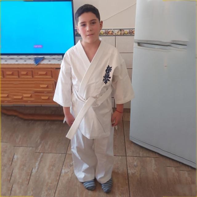 Спортивное кимоно каратэ кёкусинкай высокого качества одобренное WKF 3