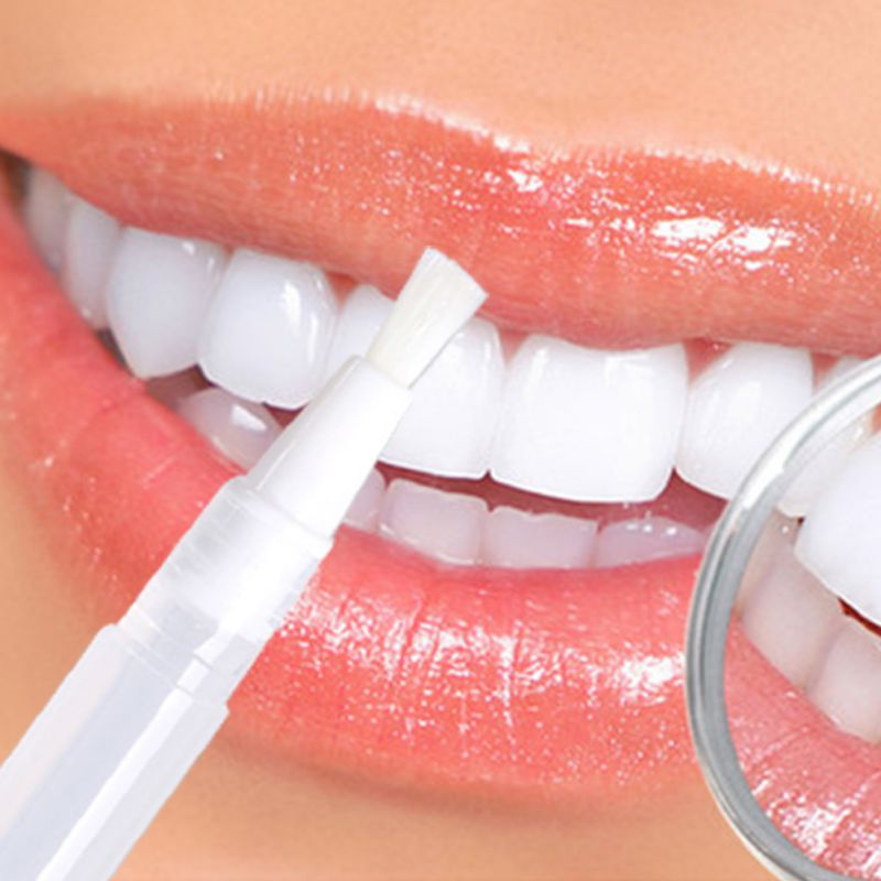 Transparent White Teeth High Strength Whitening Gel Pen Tooth Whitener Bleach PH Neutral New Oral Care