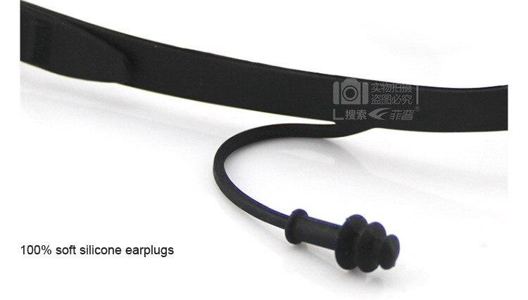 Mergulho feminino masculino óculos de natação miopia