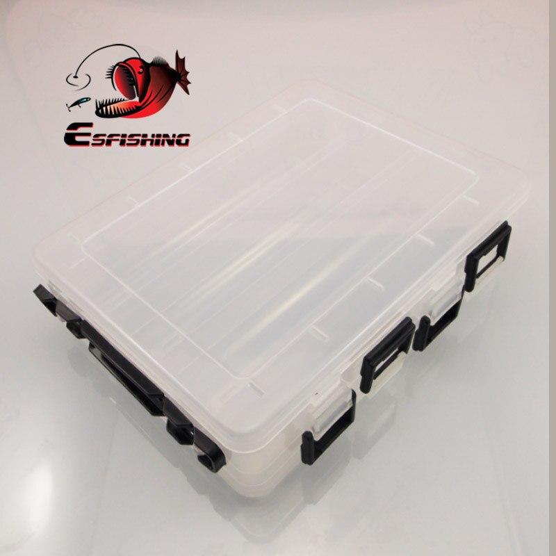 Angelgerät Box 26 Fächer Aufbewahrungskoffer Fischköder Zubehör Werkzeug Hot t.
