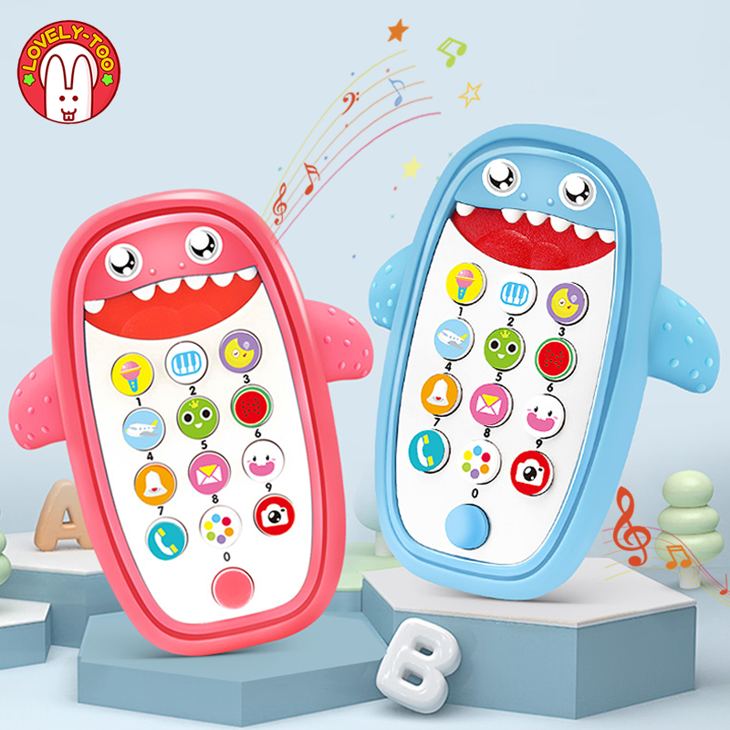 Children Phone Toy Mobile Phone Telephone Music Toys For Kids Develop Early Educational Learning Machine