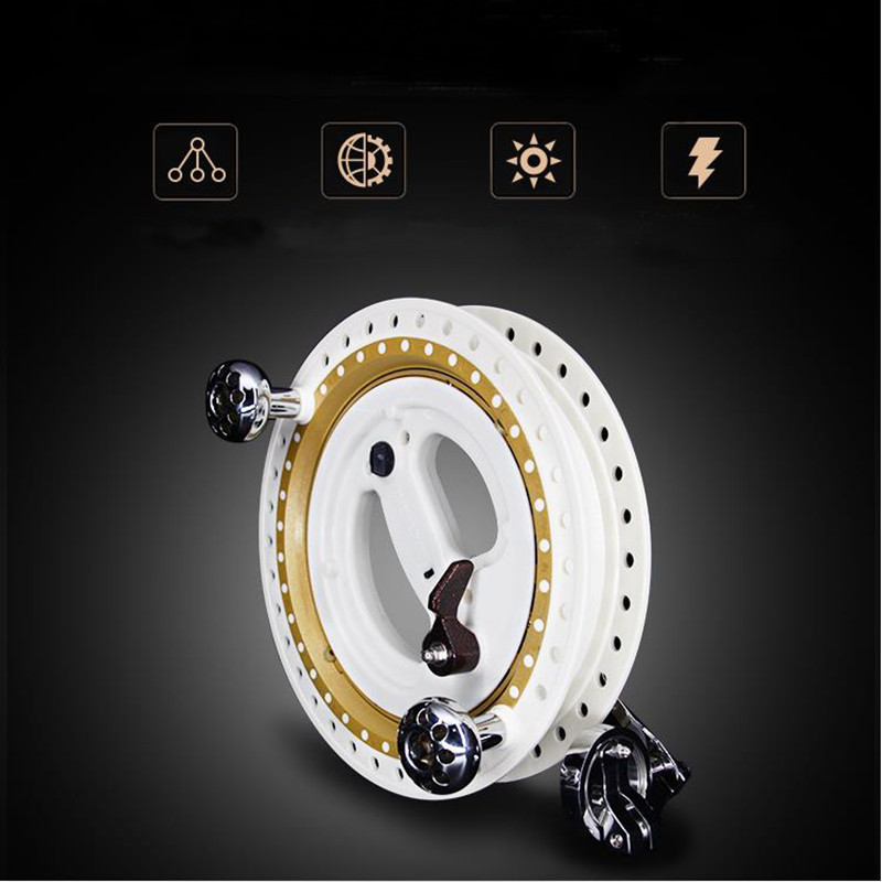 Free Shipping 28cm Large Kite Reel For Adult  Disk Brake Removable Profession Paragliding Kite Wheel Outdoor Fun Sports New Hot