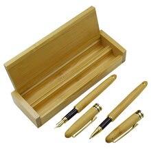 Ручки из бамбука стационарный набор бамбуковые инструменты для