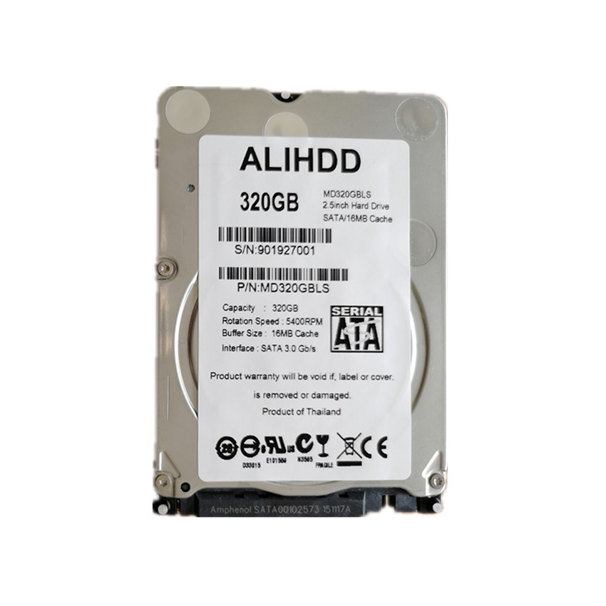 320GB SATA 2.5inch 5400RPM 16M Internal Hard Disk Drive For Laptop Notebook Warranty For 1-year