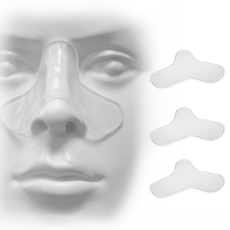 Almofadas nasais de 2/4/8 pces para almofadas do nariz da máscara de cpap almofada do conforto da máscara de apneia do sono pode ser aparada para almofadas do tamanho para a maioria das máscaras