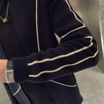 2020 autumn new mens korean slim fit versatile cardigan sweater for spring and wear coat men