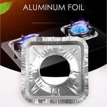 Gas Stove Oil-proof Pad Stove Aluminum Foil Paper Kitchen Stove Cleaning Pad Oil-proof Pan Gas Stove Tin Foil Pad Oil-proof Pad