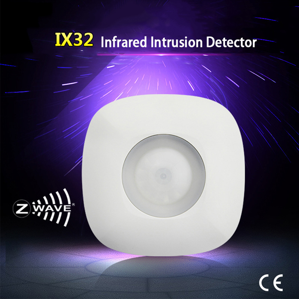Alarm System Z Wave Movement Sensor Motion Detector Sensor Alarm Z Wave Wireless PIR Motion Sensor Smart Home Automation