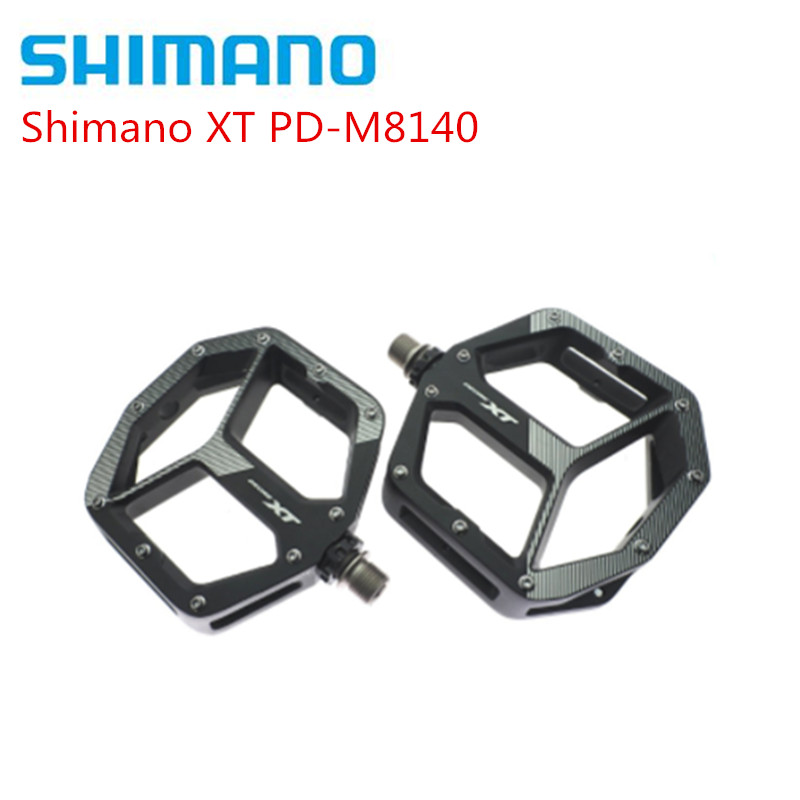 Shimano Deore XT PD M8140 Flat Pedal MTB Mountain Bike Pedals & Cleats PD-M8140 Pedals With Original Box