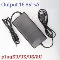 14 4 V 14 8 V 5A DC 16 8 V Drei-stufen Lithium-Batterie Ladegerät for14500/14650/17490/18500/18650/26500 Polymer lithium-batterie Pack