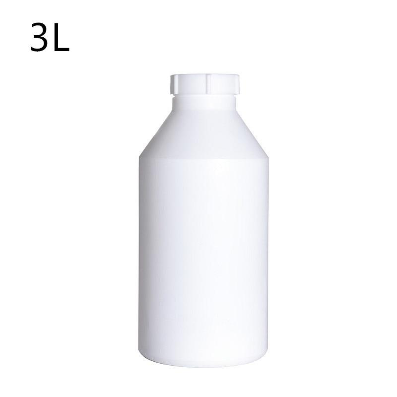 Bouteille en plastique vide de 3L avec le récipient de polytétrafluoroéthylène de bouchon à vis pour la matière première cosmétique de haute qualité