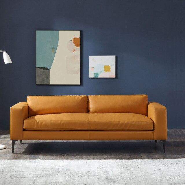 Foshan Italian Minimalist Modern Sofa  2