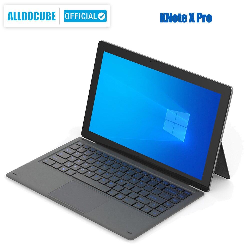 ALLDOCUBE Knote X Pro 13.3 Inch  2 IN 1 Tablet 2560*1440 IPS Windows Gemini Lake N4100 8GB RAM 128GB ROM TYPE-C USB 3.0