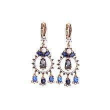 Joolim Mix Styles Luxury Vintage Gold Flower Drop Earring Retro Party Earrings 2019 for Women